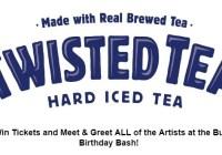Twisted Tea 101.7 Bull Birthday Bash Giveaway