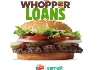 Whopper Loans Sweepstakes