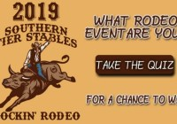 103.7 Q Country Which Rodeo Event Are You Contest
