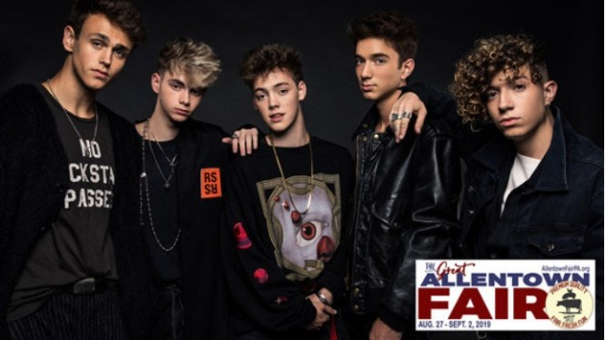 B104 Allentown Why Dont We Tickets Giveaway