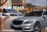 Bikini Wash And Benz Giveaway Sweepstakes