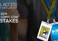 CBS 2019 San Diego Comic-con Sweepstakes