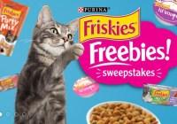 Friskies Freebies Sweepstakes