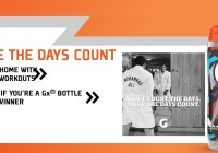 Gatorade Gx Bottle Instant Win Game Sweepstakes