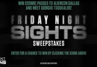History Channel Friday Night Sights Sweepstakes