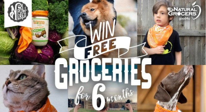 Natural Grocers I Am N Powered Grocery Giveaway