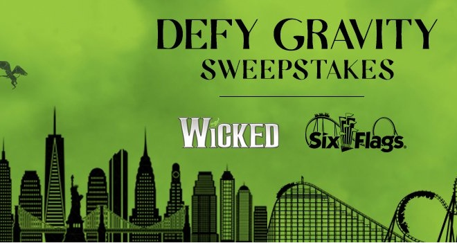 Six Flags Defy Gravity Sweepstakes