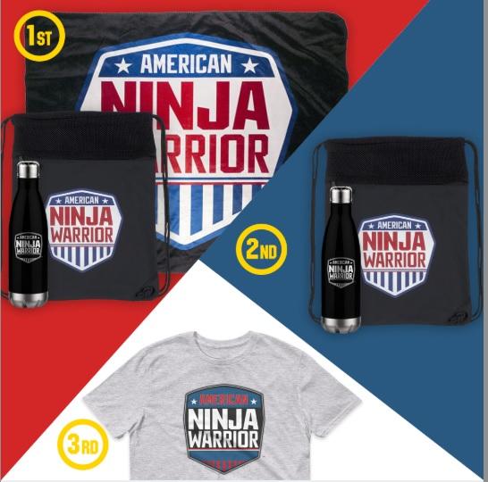 Store American Ninja Warrior Giveaway