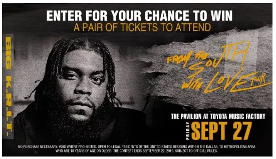 The BIG K.R.I.T Online Contest