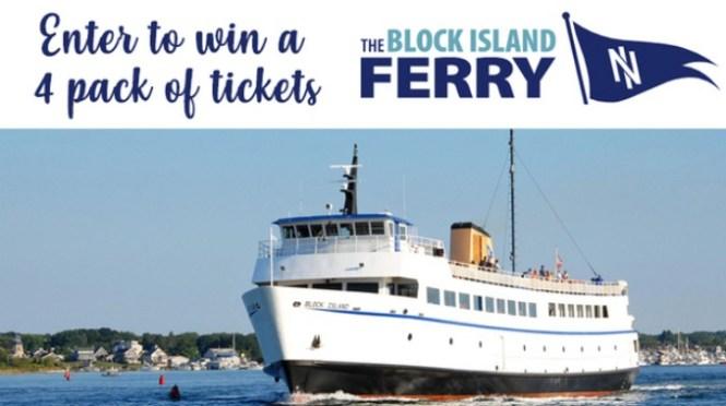WPRI Block Island Ferry Ticket Giveaway