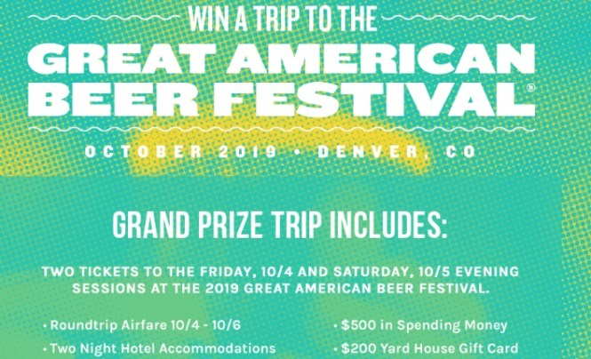 Yard House Great American Beer Festival Giveaway