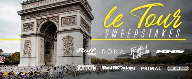 BikeExchange TDF 2019 Sweepstakes