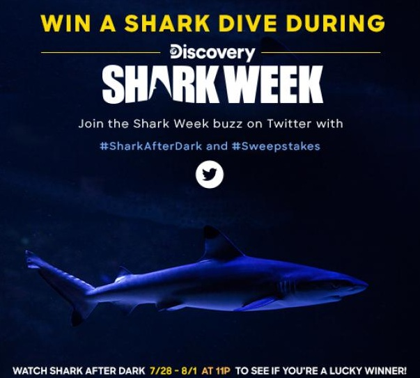 Discovery Shark Week Sweepstakes 2019