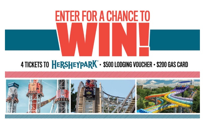 Hershey Park Family Fun Pack Sweepstakes