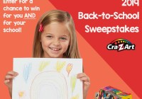Larose Cra-Z-Art Back To School Sweepstakes