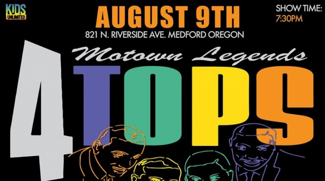 The 4 Tops Ticket Giveaway