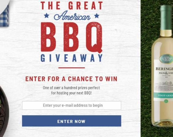 The Great American BBQ Sweepstakes - Win Game Prizes