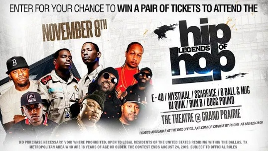 The Legends Of Hip Hop Contest