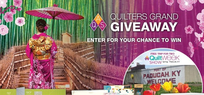 AQS Quilters Grand Giveaway 2019