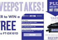 Gigaparts Sweepstakes