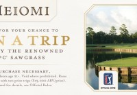 Golf Vacation Sweepstakes 2019