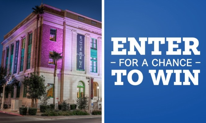 Southwest Magazine Mob Museum In Las Vegas Sweepstakes