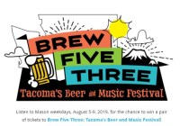 Tacoma Beer And Music Festival Sweepstakes