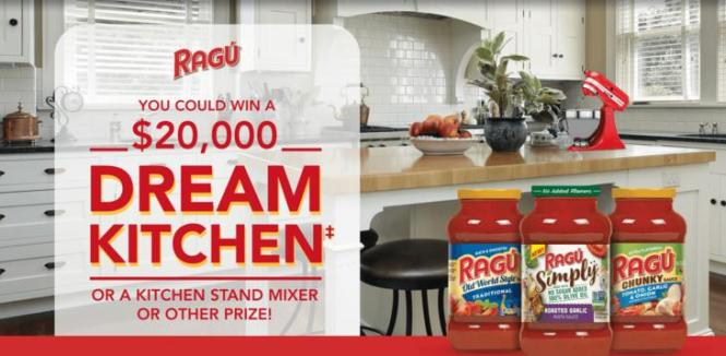 The RAGU Dream Kitchen Giveaway - Win Kitchen Makeover ...