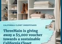 California Closet Giveaway