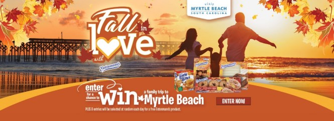 Entenmann Myrtle Beach Vacation Giveaways