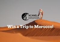 Morocco Trip Sweepstakes