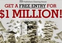 PCH.com Bingo BITZ Millionaire Sweepstakes