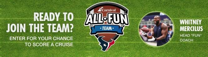 Texans Choose Fun Sweepstakes