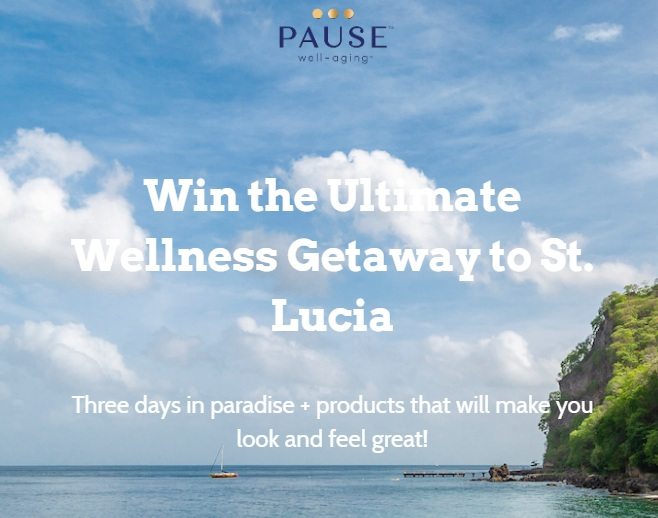Ultimate Wellness Getaway To St Lucia Sweepstakes