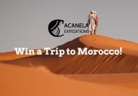 Acanela - Win A Trip To Morocco Sweepstakes