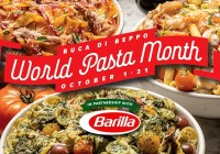 Buca Di Beppo World Pasta Month 2019 Sweepstakes