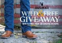 Dan Post Exotic Boot Fall Giveaway