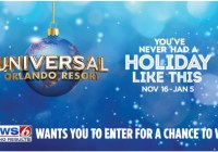 WKMG-TV And COZI Holidays At Universal Orlando Resort Contest