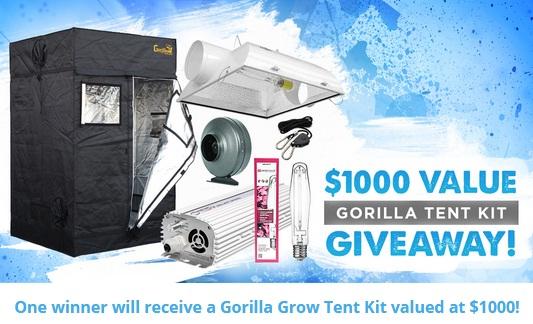 East Coast Hydro Gorilla Grow Tent Kit Giveaway