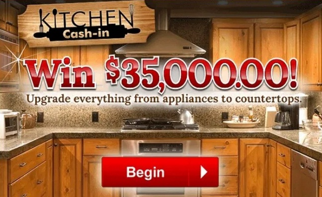 Pch.com Kitchen Cash-in Sweepstakes