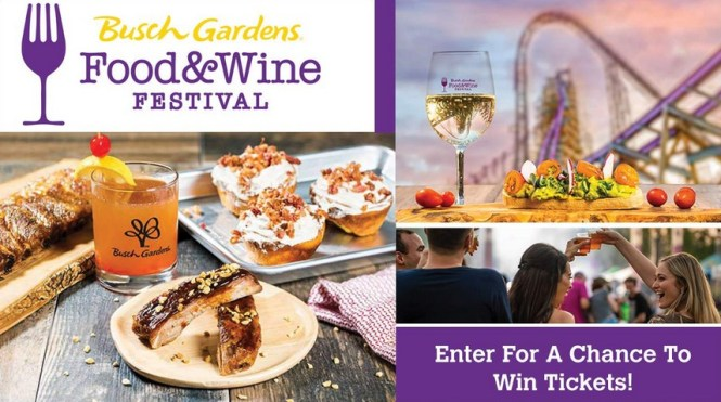 Food And Wine Festival Sweepstakes