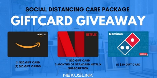 NexusLink Social Distancing Care Package Gift Card Giveaway