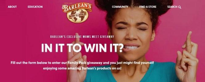 Barlean Moms Meet CBD Giveaway
