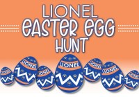 Lionel Trains Easter Egg Hunt Contest