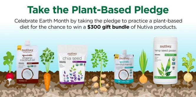Nutiva Plant-Based Pledge Sweepstakes