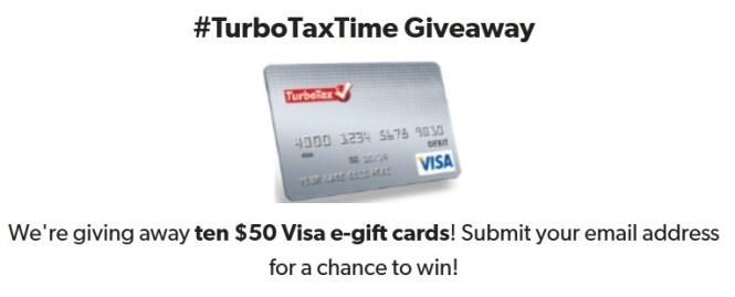 Savings.com TurboTaxTime Giveaway