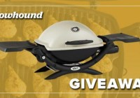 Weber Portable Gas Grill And Meat Box Giveaway