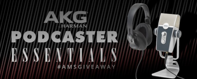 AKG Podcaster Essentials Giveaway