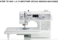 Angela Wolf Brother Sewing Machine Giveaway