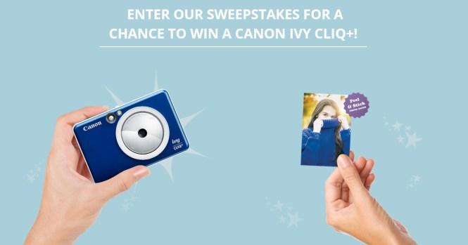 Canon U.S.A Canon IVY CLIQ+ Sweepstakes